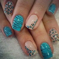 Услуга дизайн 1-го ногтя акриловыми красками
